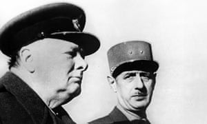 De Gaulle and Churchill, 1944