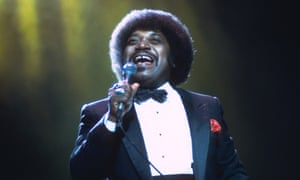Percy Sledge performing live in 1987