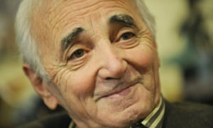 French singer Charles Aznavour in 2009.