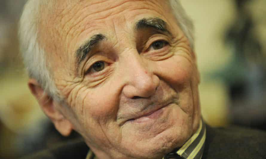 French singer Charles Aznavour in 2009.