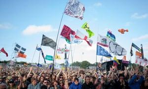 Glastonbury Festival 2013.