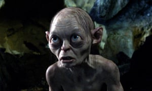 Gollum, Andy Serkis's most famous role.