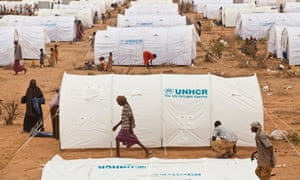 Ifo extension camp at Dadaab was designed to deal with the fresh influx of refugees from Somalia.
