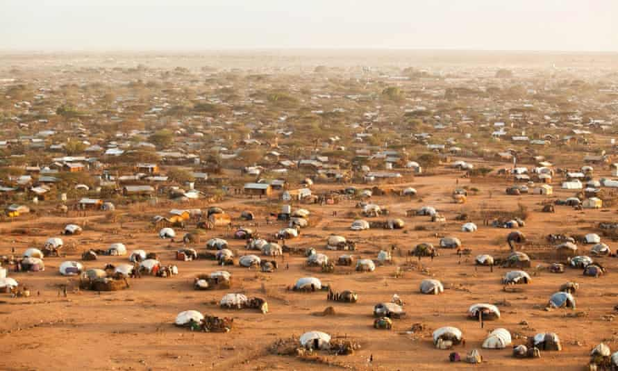 In 2011 refugees fled Somalia in such numbers that the existing camps in dadaab kenya couldn't hold them