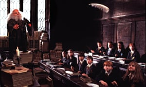 Scene from Harry Potter and the Philosopher's Stone