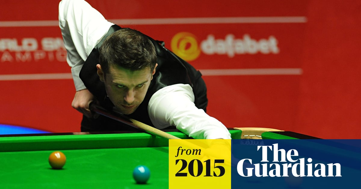 Mark Selby to defend world snooker title against Kurt Maflin after ...
