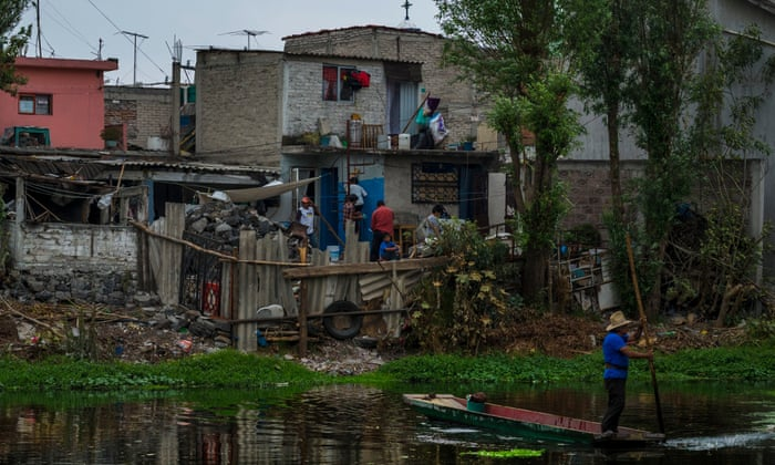 Development Threatens To Dry Up Mexico City S Floating Market Gardens World News The Guardian