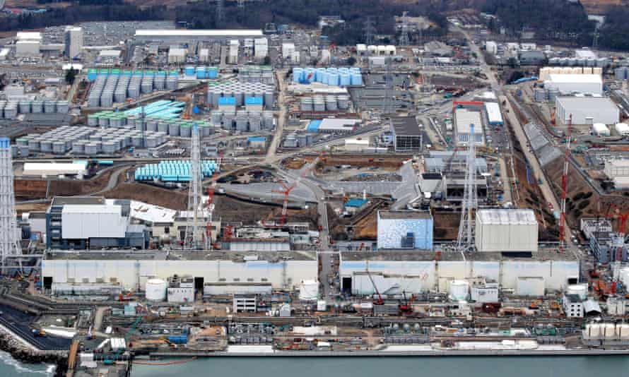 In this aerial image, Tokyo Electric Power Co's Fukushima Daiichi Nuclear Power Plant is seen ahead of the fourth anniversary of the meltdown accident on March 3, 2015 in Okuma, Fukushima, Japan. Around 71 percent of Fukushima Prefecture residents remain dissatisfied with the central government's handling of the nuclear disaster four years after the triple meltdown forced hundreds of thousands to flee their homes, a survey showed.
