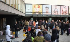 Helsinki University researchers protest against the efficiency politics