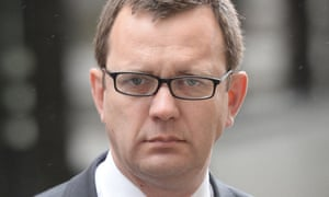 The former News of the World editor Andy Coulson.