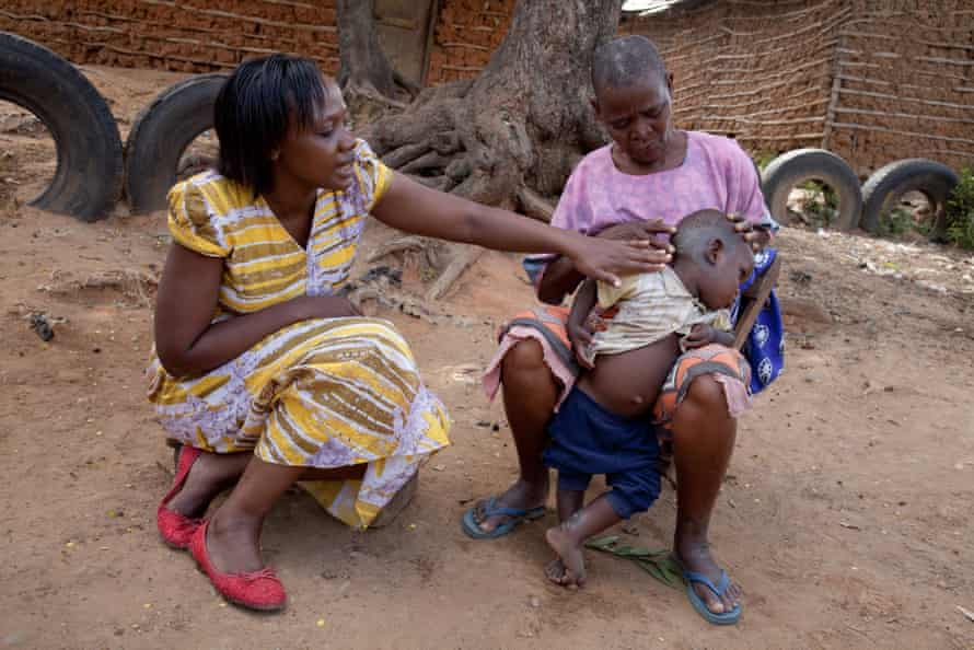 Phyllis Omido meets a woman whose grandson is suffering from lead poisoning.