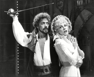 Tim Curry and Pamela Stephenson in the 1982 West End production.