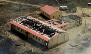 A year on, burned out buildings at the girls school in Chibok are testimony to the attack by Boko Haram.