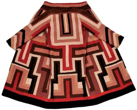The coat Delaunay made for Gloria Swanson, 1923-24: 'a tour de force'.