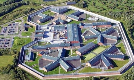 Dovegate prison, which is operated by Serco.