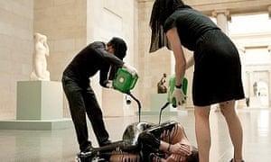 Tate Britain protest