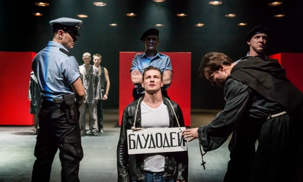 Cheek by Jowl and Pushkin Theatre's production of Measure for Measure. Photograph: PR