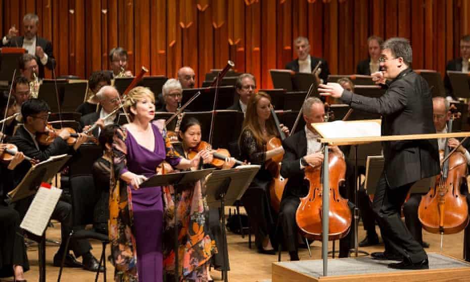 Alan Gilbert and the New York Philharmonic with Joyce DiDonato at the Barbican on Friday 17 April.