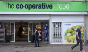 A branch of the Co-operative's food shop in central Manchester.