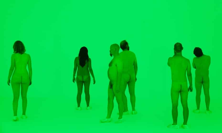 James Turrell naked exhibition