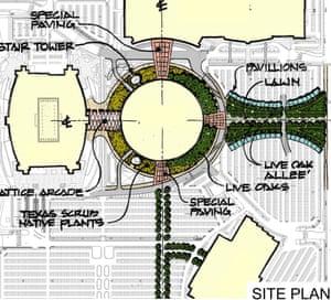 Astrodome park plan.