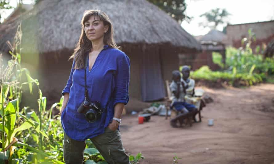 Lynsey Addario photographed in Nairobi