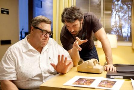 Goodman alongside Ben Affleck in the Oscar-winning Argo (2012).