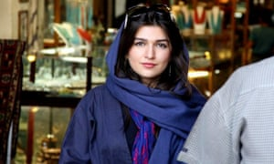 Ghoncheh Ghavami, a young Iranian-British woman who was detained while trying to attend a men's volleyball game in Tehran.