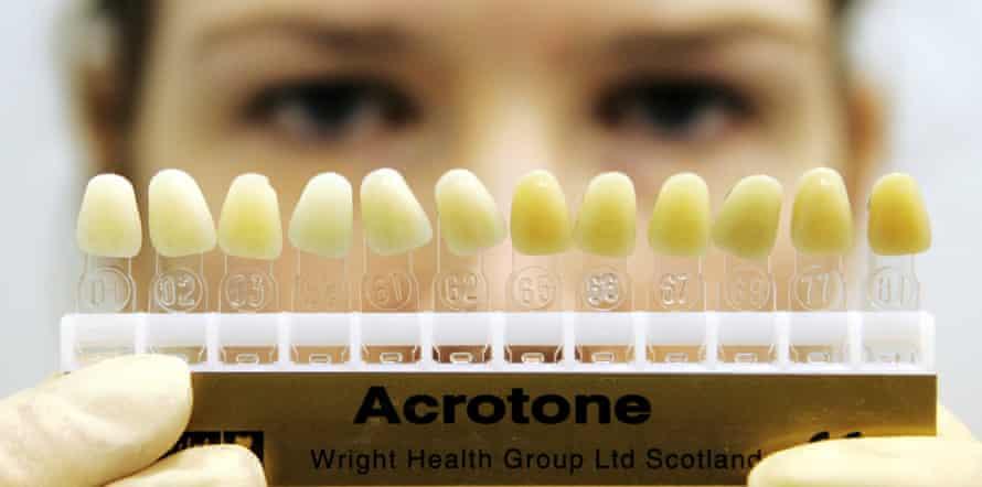 A Scottish dental nurse
