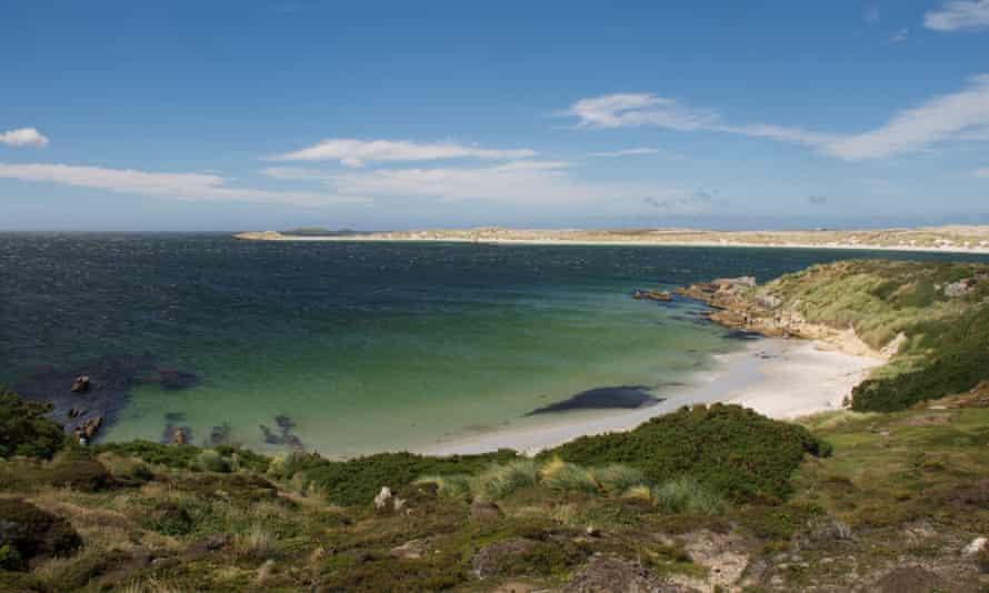 Port Stanley on the Falkland Islands.