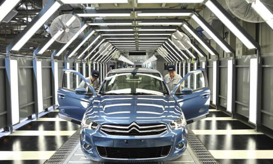 C-Elysee being made at Dongfeng Peugeot Citroen, Wuhan