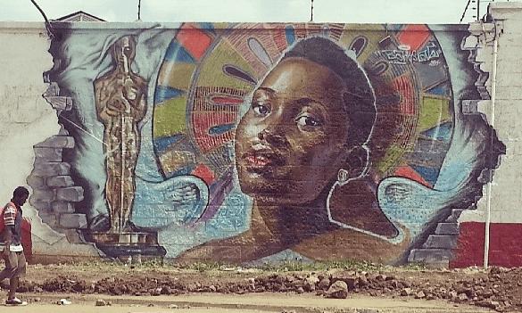 Bankslave street art