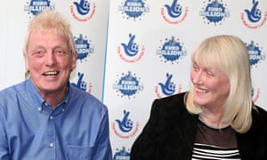 David and Kathleen Long win £1m in the EuroMillions for the second time