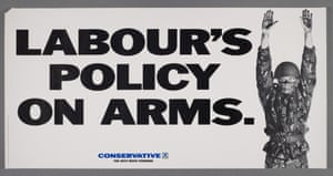 A poster for the British Conservative Party from the 1987 General Election.