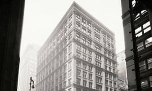 The Home Insurance Building was built with a steel frame in 1885 after the Great Chicago Fire destroyed parts of the mostly wooden city in 1871