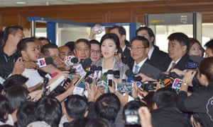 The junta has detained hundreds of people accused of supporting deposed prime minister Yingluck Shinawatra, pictured.