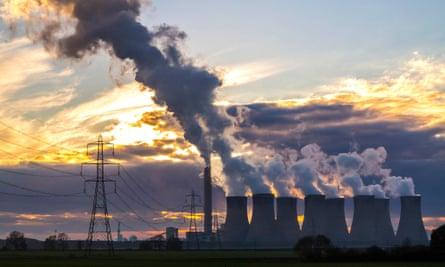 Drax Power station, Yorkshire, UK