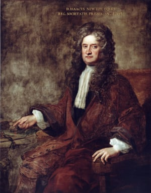 Portrait of Isaac Newton by Charles Jervas