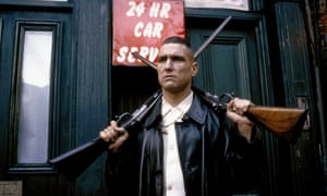 Vinnie Jones in Lock, Stock and Two Smoking Barrels.