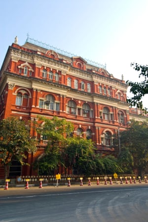 Writers' Building in BBD Bagh square today.