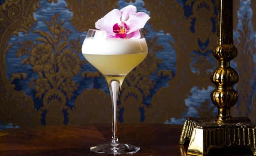 Flower power … cocktails at Hush Hush