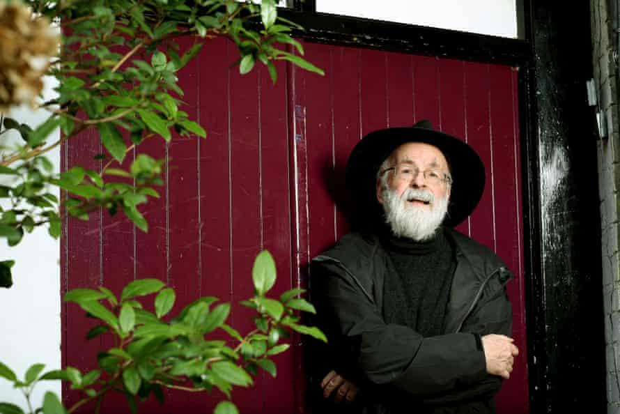 Terry Pratchett – fantasy's licensed jester – in 2013.