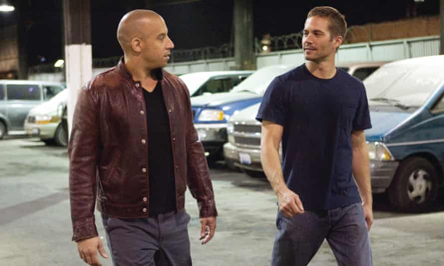 Paul Walker with Vin Diesel … with all those hotrod duels and meaningful glances between cockpits, was Walker actuallythe series' true loveinterest?