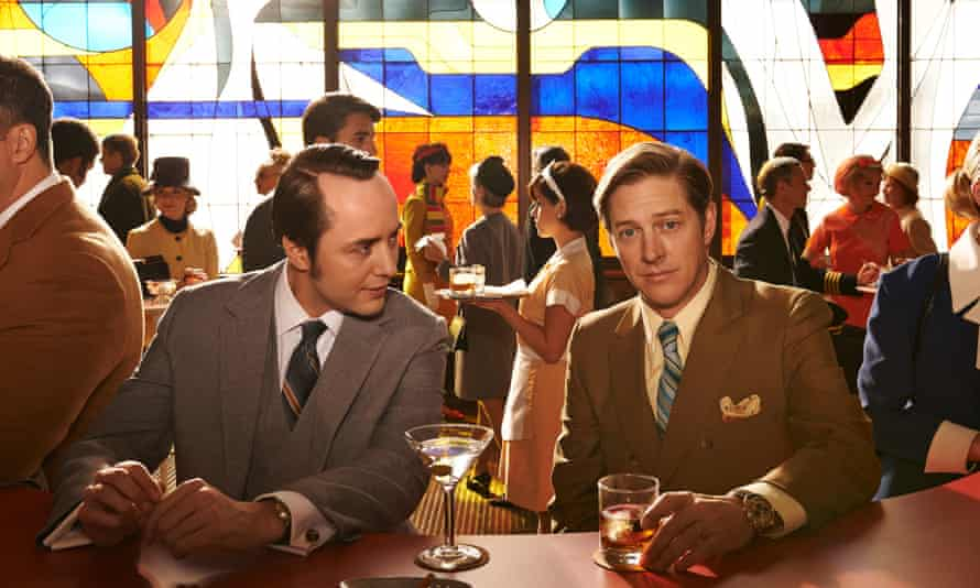 Pete Campbell and Ted Chaough