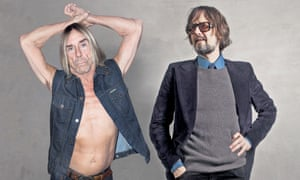 Iggy Pop and Jarvis Cocker
