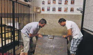 Players search for clues at the Trap Factory in Budapest