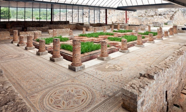 Roman ruins (House of fountains), Conimbriga