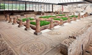 Roman ruins (House of fountains), Conimbriga