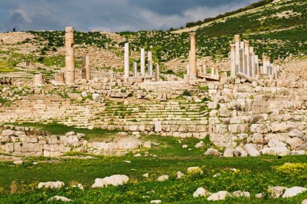 Ruins in Pella, Jordan