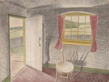 Interior at Furlongs, 1939.